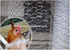 Black Iron Hexagonal Chicken Wire Netting For Game Bird Flight Pens