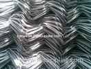 Polyethylene Weave Farm PVC Coated Chain Link Fence 2'' For Fruit Cages