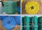 Livestock Green PVC Coated Barbed Wire Fence With Great Rust Resistance