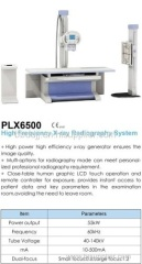 High Frequency Digital flat planel radiography X-way system