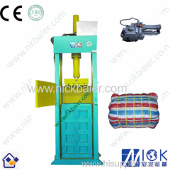 Used clothes hydraulic compactor