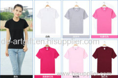 Wholesale printing t shirt 100% cotton custom t shirts designs