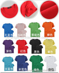 Logo Customized Cotton T shirts for Promotion
