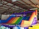 Inflatable Adults Backyard Obstacle Course Equipment With Slide