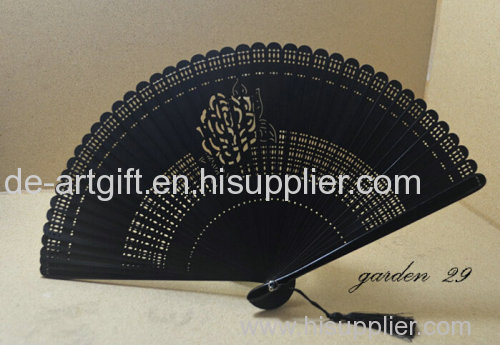 Plain paper chinese fan for wedding