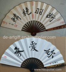 Customise chinese folding hand fan for events