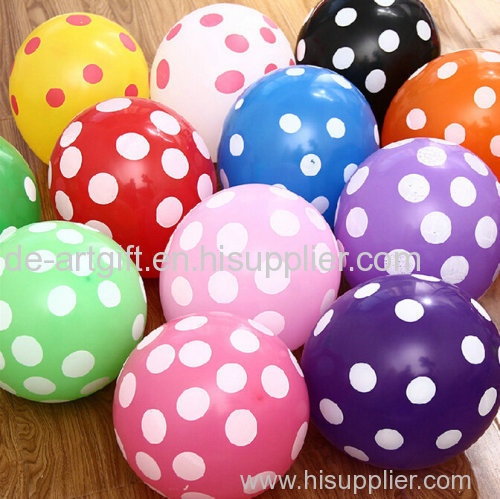 Latex balloons for party decoration