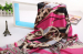 Top Super soft beautiful women fashion silk scarf