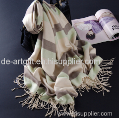 Woven woolen wool cashmere scarf