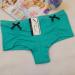 Spandex girl cotton boyleg lady panties stretched cotton short brief women cotton tanga cute lady underwear thong hot li