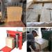 wood shaving rice husk Baler Machine