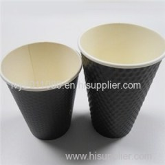Two Pieces Corrugated Paper Cups