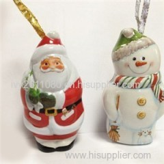 Santa Claus Shaped Tin Box