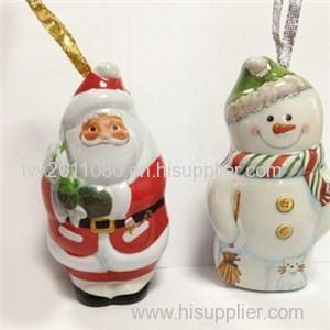 Santa Claus Shaped Tin Box