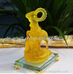 office decor ornaments tree resin Jade Figurines