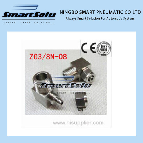 Free shipping Stainless 90 Elbow Compression Fitting