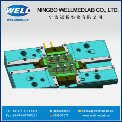 Manifold body plastic injection molding