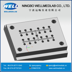 Y Connector Circle Ring Plastic Injection Moldings