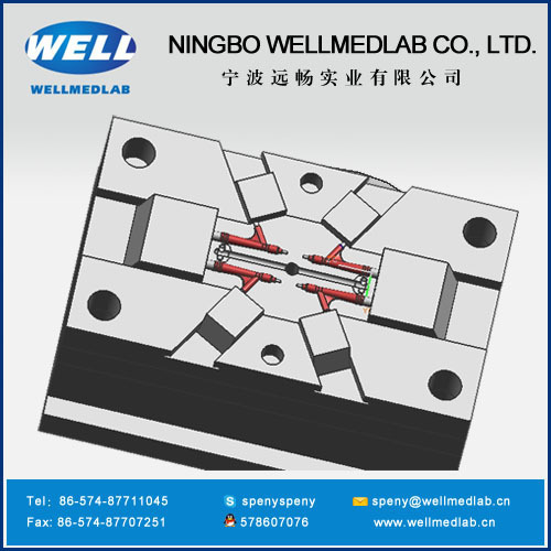 Y Connector plastic injection molding