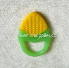 Customized silicone baby teether