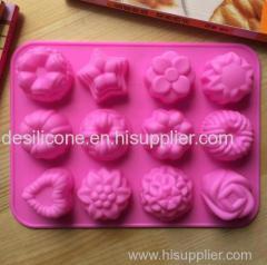 Silicone cake mold food grade silicone