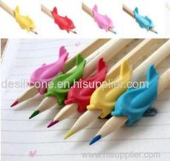 colorful silicone pen cap