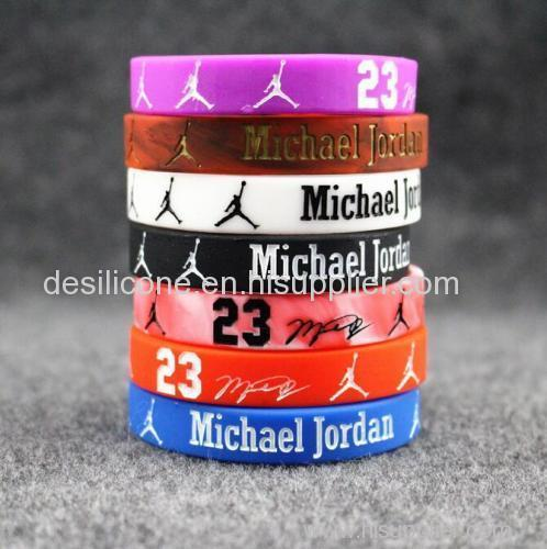 silicone custom bracelet for advertising