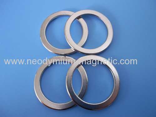 rare earth N30H N33H N35H permanent neodymium ring magnet