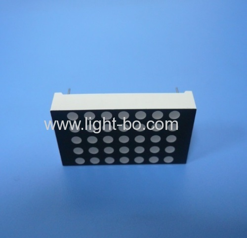 1.5  Ultra Bright Red 3mm 5 x 7 Dot-matrix LED Display for digital position indicator
