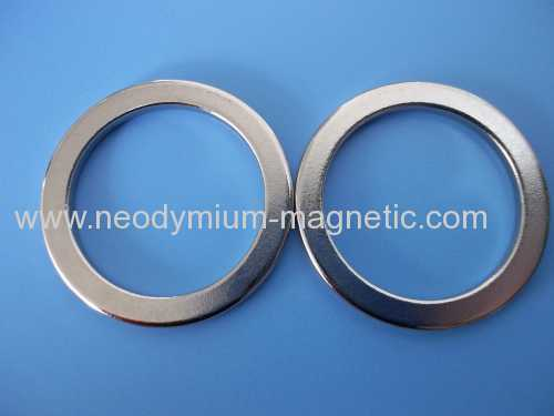 N35 N38 N40 rare earth permanent ndfeb ring magnet for speakers