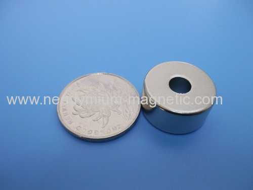 N42 N45 N48 N50 N52 strong ndfeb permanent ring magnet