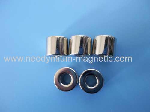 N35SH N38SH ring permanent neodymium step motor magnet