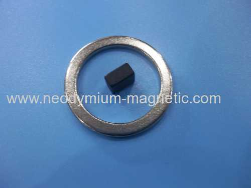 N42H Neodymium disc magnet with radial magnetization