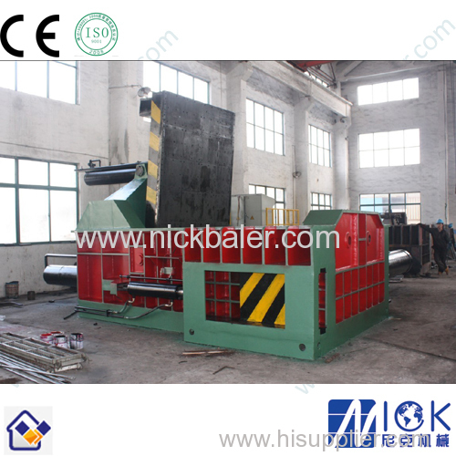 Metal Press with metal bale block making machine