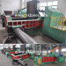 Hydraulic balerwith metal block into cube machine