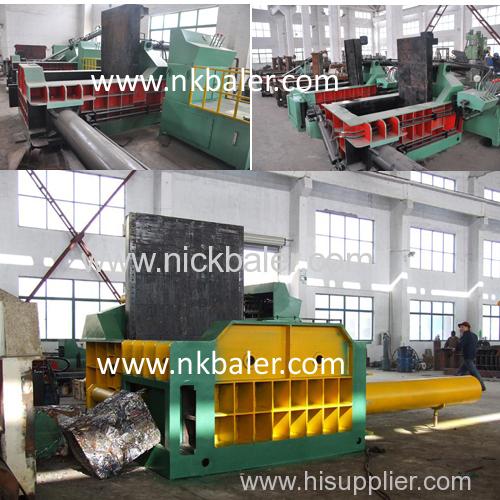 push-out Scrap steel hydraulic press machine