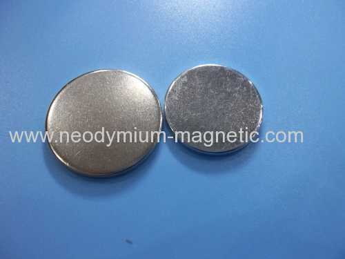 N35H N35SH Disc neodymium ndfeb speaker magnet with Ni plated