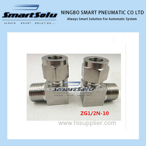 Stainless Steel Fitting Straight terminal fittings