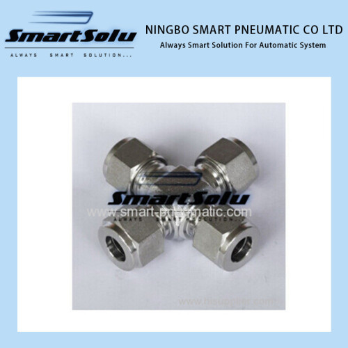 Swgelok Compression Tube Cross Fitting for Oilfield
