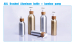 aluminum lotion bottle bamboo pump