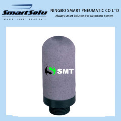 Plastic type pneumatic silencer