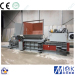 Horizontal drum crusher baler