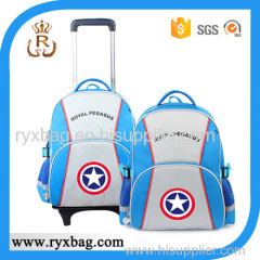 Child school trolley bag
