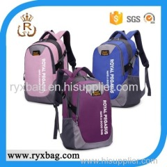 Young student school backpack bag