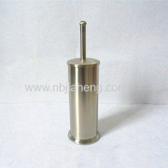 Stainless steel toilet brush holder and punching