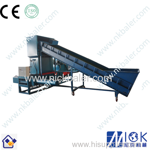 Horizontal Wood Sawdust Pallet Block Press Machine from