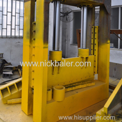 Hydraulic Waste Rubber Tyre Cutting Machine