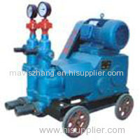 Double liquid high pressure grouting injection pump