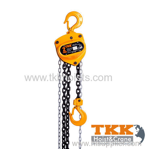 Hand Chain Hoist with Double Pawl Disc Brake 2000KG