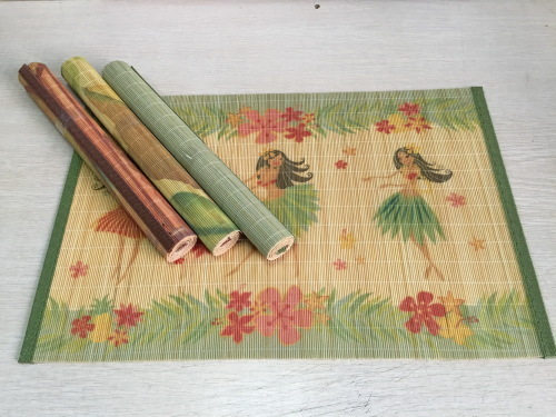 new design bamboo table mat